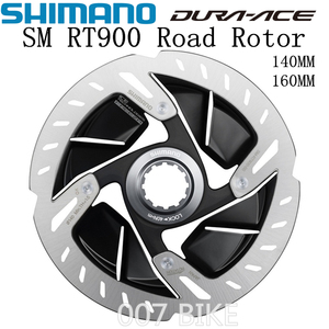 Image 1 - SHIMANO DURA ACE R9120 SM RT900 Rotor 140mm 160mm Straße Fahrräder Rotor SM RT900 R9120 R9170 CENTER LOCK Disc bremsscheibe