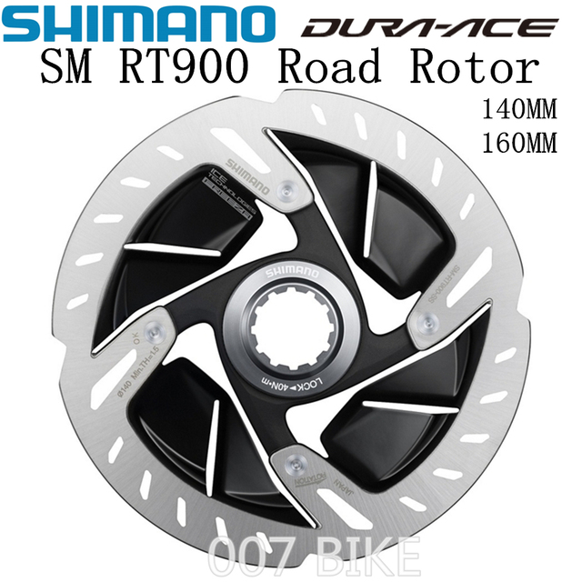 SHIMANO DURA ACE R9120 SM RT900 Rotor 140mm 160mm Straße Fahrräder Rotor SM RT900 R9120 R9170 CENTER LOCK Disc bremsscheibe