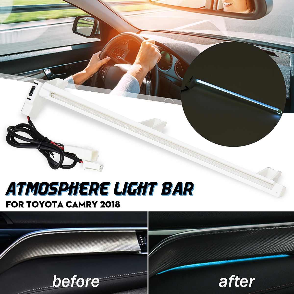 Car inner Inside Interior Led Atmosphere Decorative Lamp Light For Toyota Camry Altis XV70 2018 2019 For Daihatsu