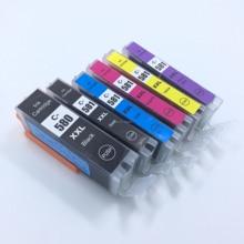 цена на YOTAT Compatible PGI-580 CLI-581 Ink Cartridge PGI580 CLI581 For Canon PIXMA TR7550 TR8550 TS6150 TS6151 TS8150 TS8151 TS8152