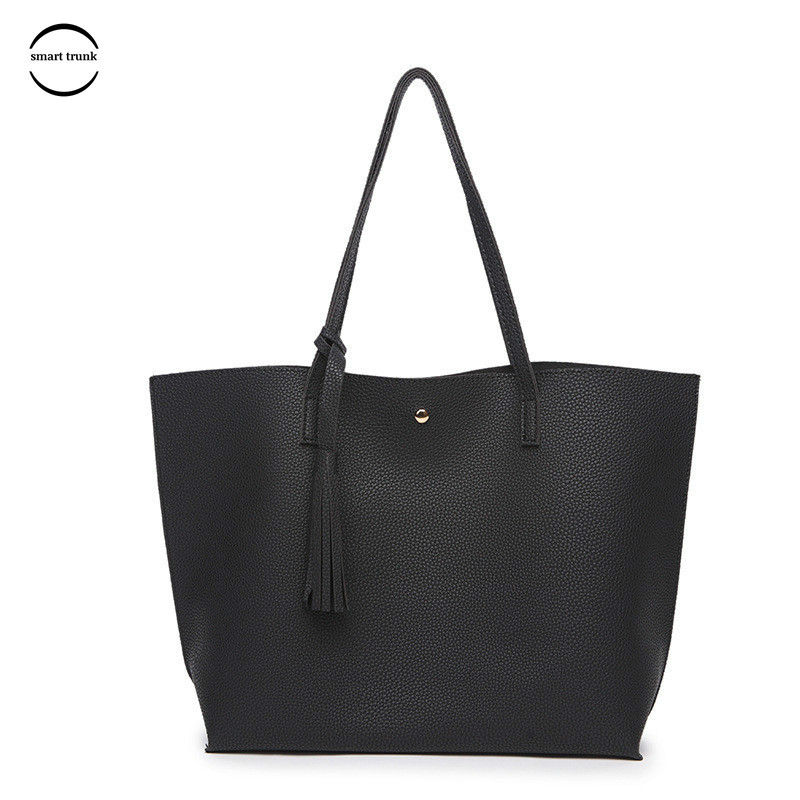 Smart trunk Handbags Big Women Bag High Quality Casual Female Bags Trunk Tote Brand Shoulder Bag Ladies Large Bolsos in Shoulder Bags from Luggage Bags