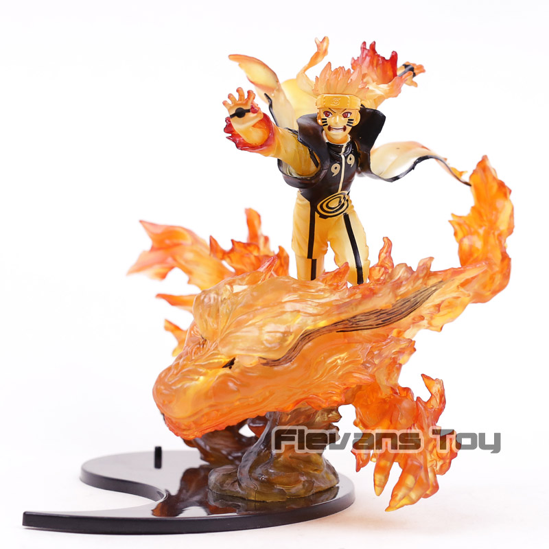 Figuarts Zero Naruto Shippuuden Namikaze Minato Kurama Figure Collectible Model Toy футболка print bar kurama naruto