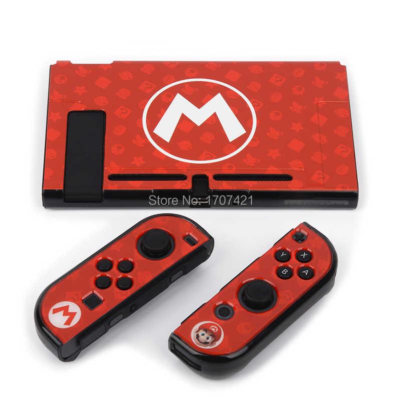 2019 новый жесткий защитный чехол для Nintendo Switch NS Nitendo Swtich консоль непосредственно док-наклейка игровые аксессуары