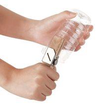 Портативный круглый пластиковый резак для бутылок на открытом воздухе DIY перерабатывающий пластиковый инструмент для резки каната для бутылок для сока бутылки для воды