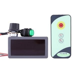 Image 1 - עמיד DC 6V 12V 24V 5A/5A PWM דיגיטלי LED תצוגת עם IR מרחוק בקר משתנה באיכות גבוהה.