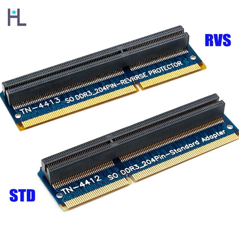 Vornehm So-dimm 204pin Ddr3 Memory Test Schutz Adapter Für Rvs Std 204pin Slot Und Verdauung Hilft Computer & Büro
