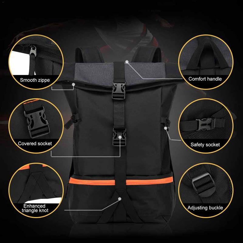 Moto Sports de plein air sac à dos étanche équipement de cyclisme casque complet sac 38L équitation Trekking sac à dos accessoire