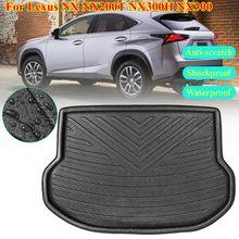 for Lexus NX NX200T NX300H NX300 2015 2016 2017 2018 Accessories Cargo Boot Liner Rear Trunk Mat Floor Tray Carpet Mud Kick Pad