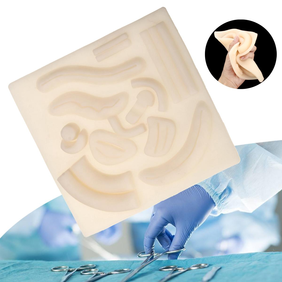 item image  Medical Suture Package 3D Silicone Laparoscopic Pores and skin Suture Pad Mannequin Set Wound Surgical Coaching Package for Pupil Observe HLB1rqFvbEvrK1RjSspcq6zzSXXak