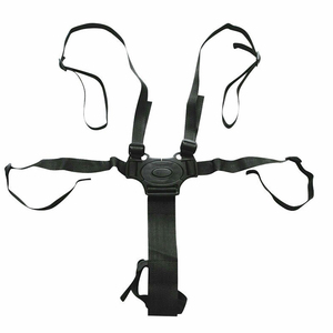 Image 4 - Buggy 5 Point Seat Belt Baby Safety Strap High Chair Child Universal Pushchair Harness Adjustable Stroller