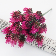 Artificial Decorations  Dried Flowers Fake Plastic Silk Plant Wedding Decor Festive Party Supplies