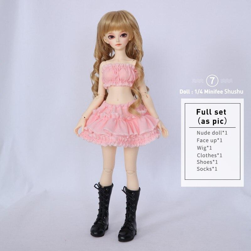rendia rena fl bjd bonecas 1 4 doce moda fada nu brinquedos 02