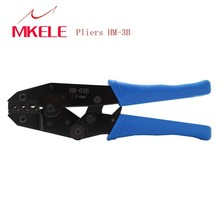 цена Pocket Folding Pliers HM-03B Hand Tools Solderless Crimping Tool ,Terminal E2508 300PCS/Box,For Non-insulated Terminal Crimper в интернет-магазинах