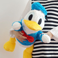 Big Cute Donald Papa Donald Duck Plush Toys Soft Stuffed Animals Doll Baby Pillow Toy For Children Girls Kids Birthday Gifts
