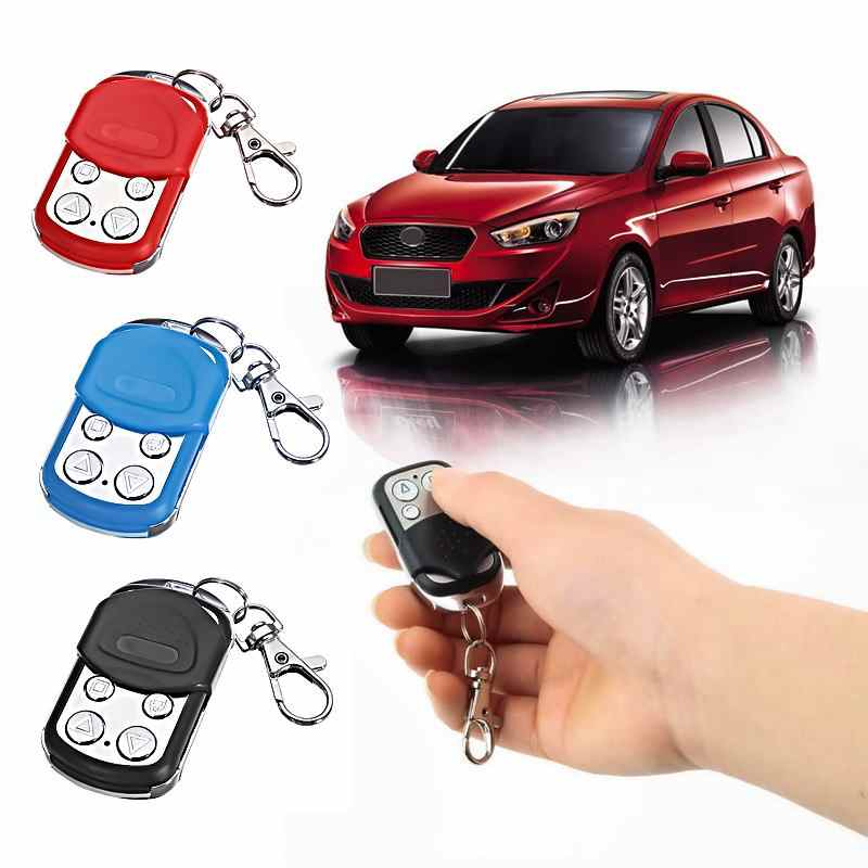 4 Channel(Buttons) Faster Copy Car Remote Control Key Waterproof Gate Garage Door Remote Control Key Fob 433.92/315MHz Cloning
