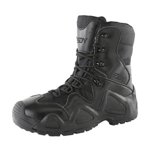 Image 2 - Outdoor Sports High Tops Tactical Boots Spring Autumn Men Women Military Training Climbing Camping Hunting Antiskid Hiking Shoes