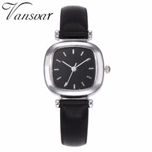 2923fb3475a Best Selling Mulheres Moda Relógio Quadrado Minimalista De Couro Senhoras  Elegante Pequeno Fresco Relógio Feminino de Quartzo Re.