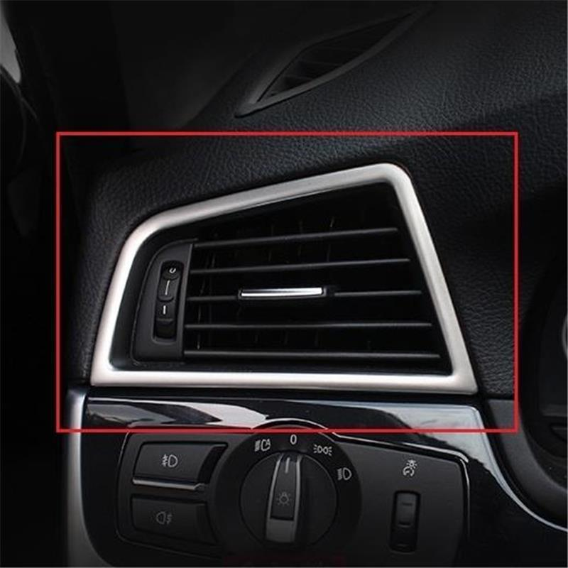 Automovil Control System Air Conditioner Interior Mouldings Trim Car Styling Protecter 11 12 13 14 15 16 17 FOR BMW 5 series