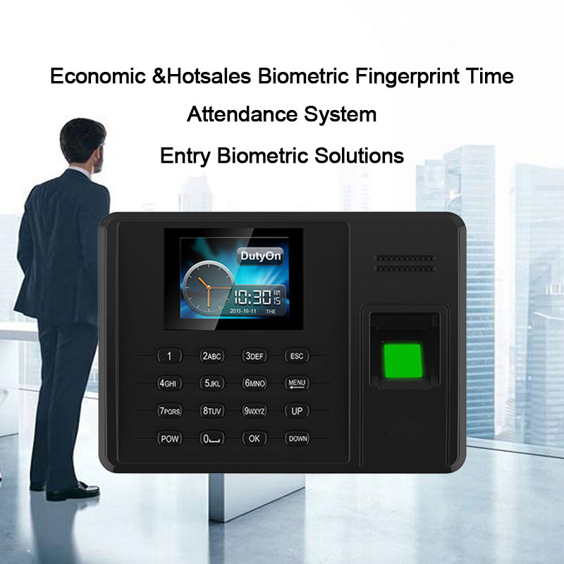 OULET Biometric Fingerprint Time Attendance Time Clock TCPIP USB Recorder Employee Recognition Device Machine Attendance System OULET Biometric Fingerprint Time Attendance Time Clock TCPIP USB Recorder Employee Recognition Device Machine Attendance System