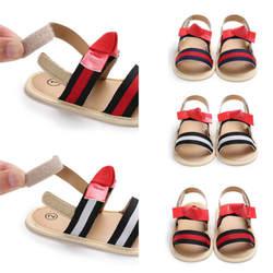 Летние для маленьких мальчиков и девочек сандалии малышей Дети из искусственной кожи мягкая подошва кроватки обувь