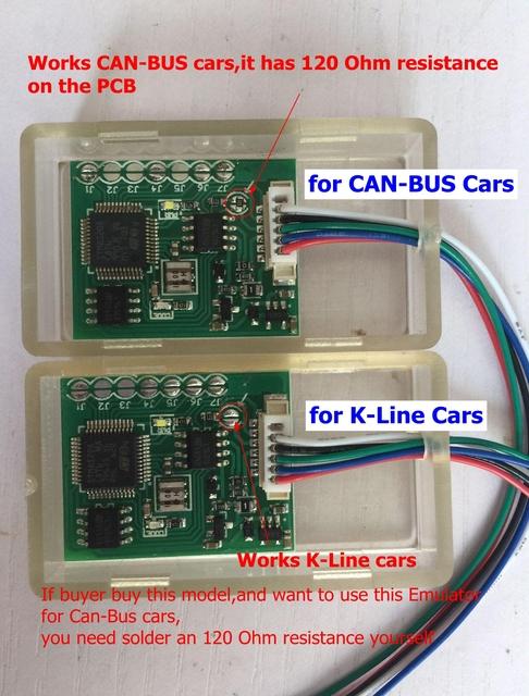 New IMMO Emulator Julie Emulator Universal For CAN-BUS/K-Line Cars For Seat Occupancy Sensor OBD Diagnostic Tool JULIE IMMO