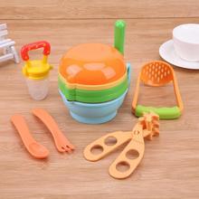 12 шт./компл. маленьких Еда размольного ручного шлифования блюда ребенок Еда Maker инструмент кормления ножницы ложка фрукты процессор