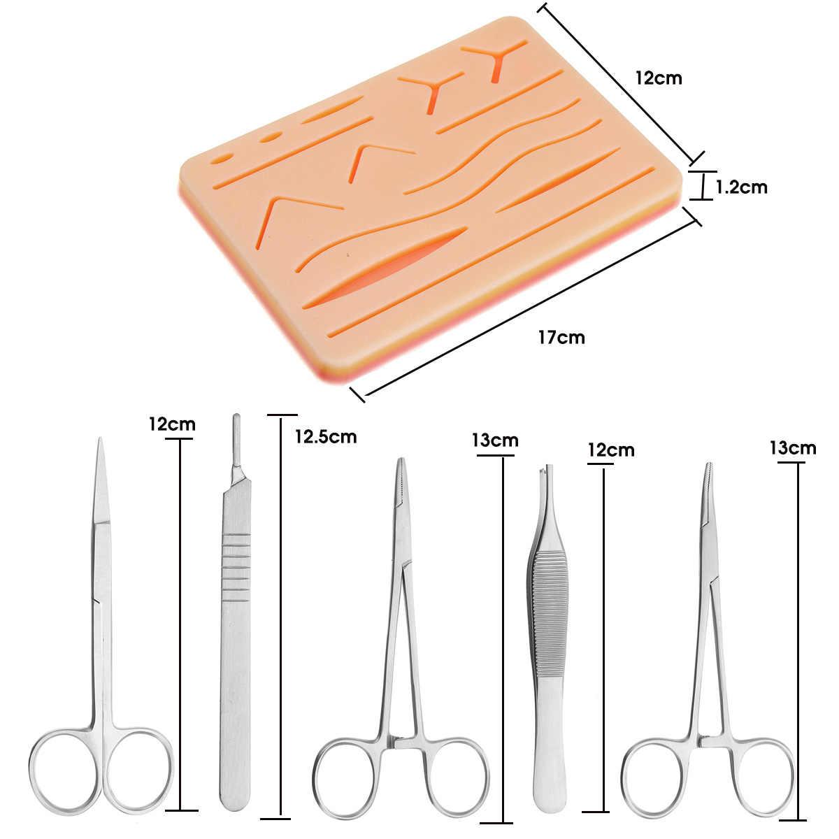 Chirurgisches Training Naht pad Praxis Menschliche Haut Medizinisches Modell