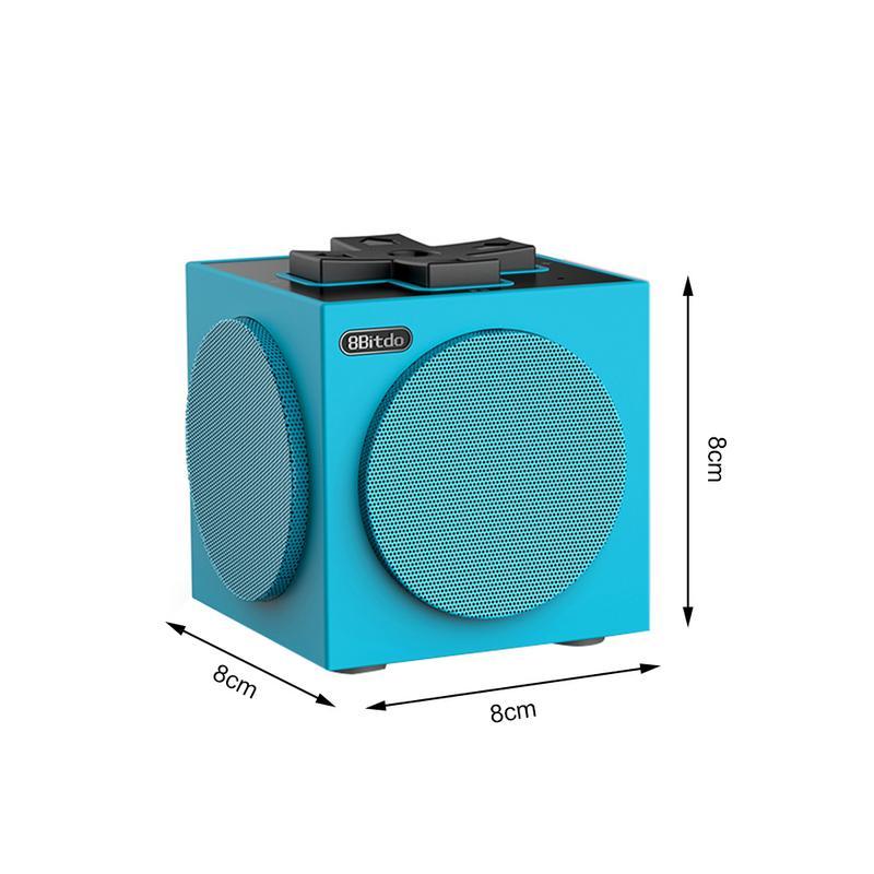 Huit places Hall Gemini haut-parleur Bluetooth sans fil pour téléphone portable tablette PC PS4 fidélité Bluetooth haut-parleur de musique