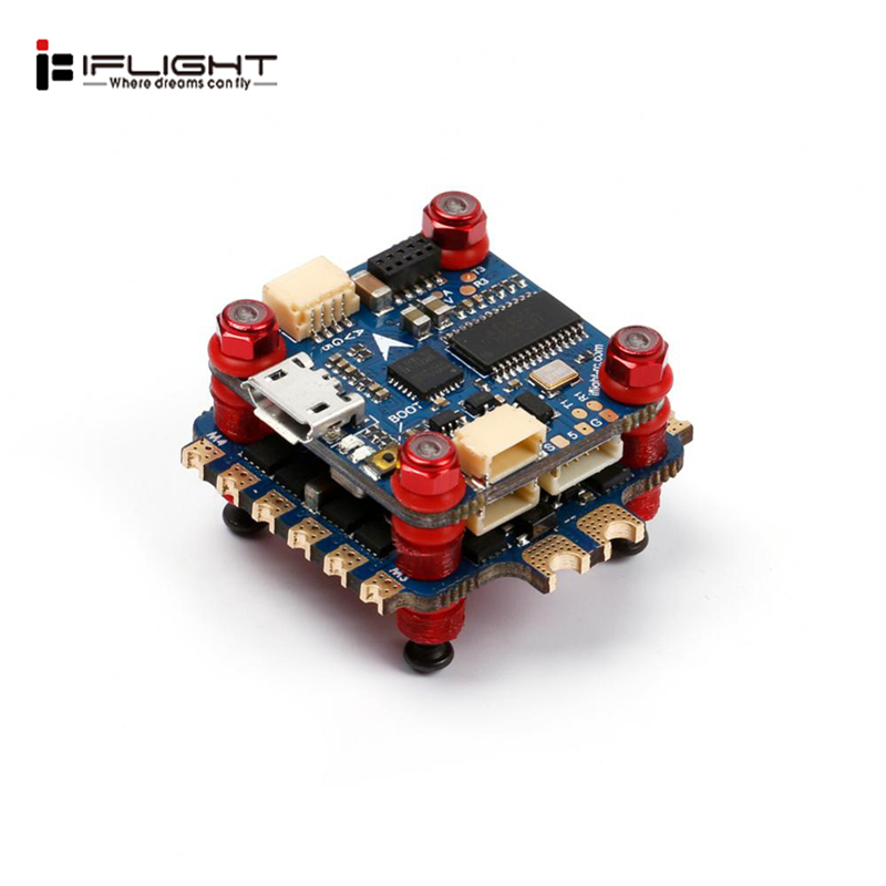 New iFlight SucceX F4 Mini Flight Controller 35A Blheli 32 2 6S Brushless ESC for RC