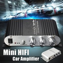 12V Car Digital Mini Amplifiers Car Motorcycle Home Hi-Fi St