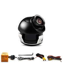 340 degrees Rotatable CCD Car Camera Front/Side View of The Blind Area Shaped Waterproof