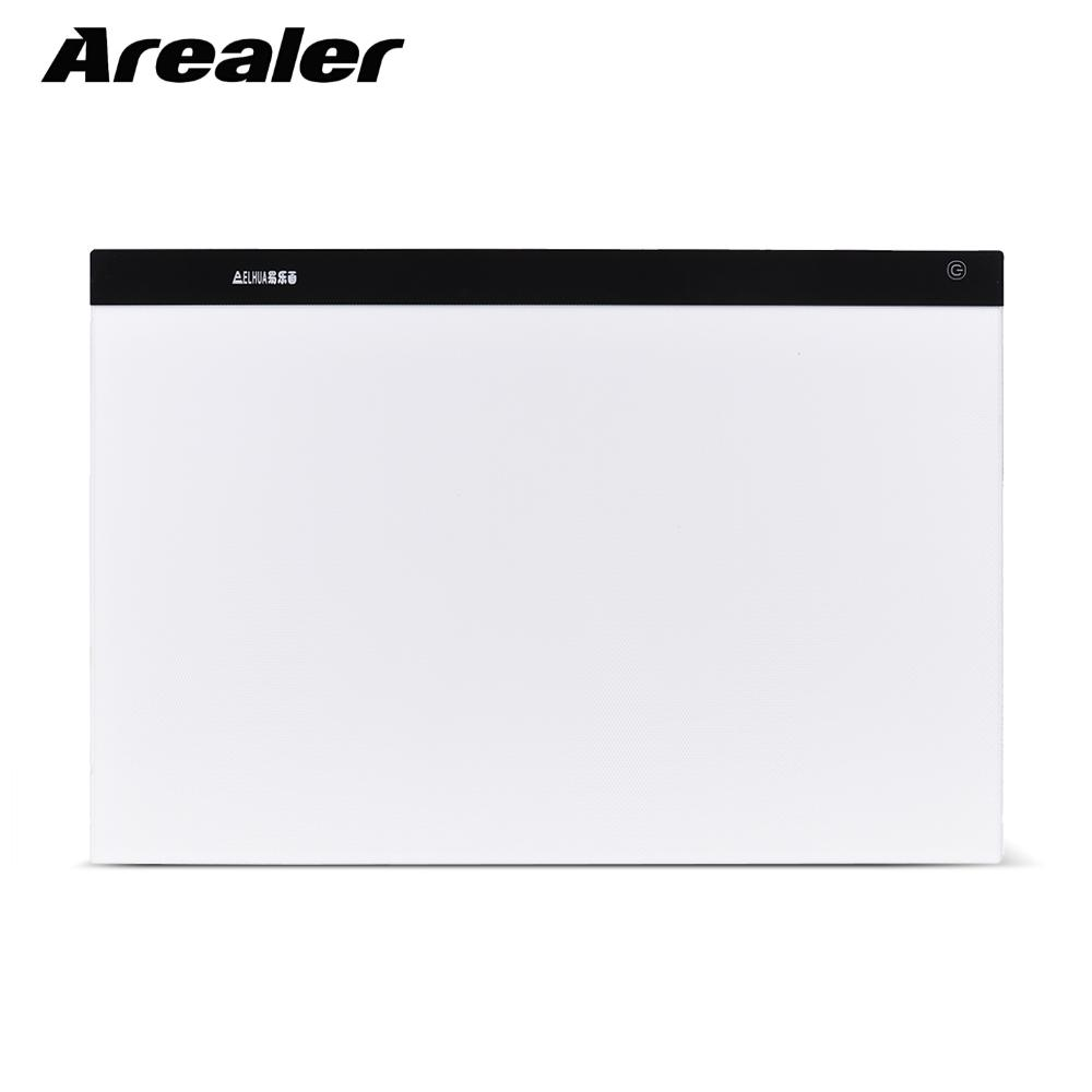 A2 Drawing Tablet Large Ultra thin LED Light Pad Box Painting Tracing Panel Copyboard Stepless Adjustable