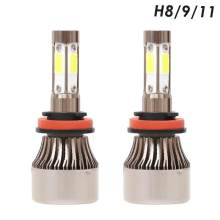 2pcs X7-COB LED Car Headlight Bulbs 6500K H4 H7 H8/9/11 H13 9004/9005/9006/9007 Lamp LED Car Lights Waterpoof IP67(China)
