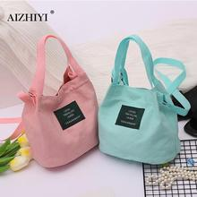 Canvas Handbag New Women's Shoulder Bag Korean Messenger Bag Casual Mini Crossbody Bags for Girls Ladies Bucket Bag High Quality