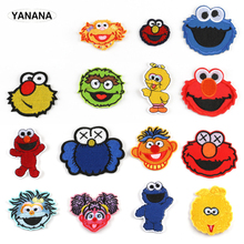Every kind of Lovely Muppet Babies Cartoon doll Smiling face portrait Iron on Embroidered clothes stickers DIY clothes jillian hart every kind of heaven