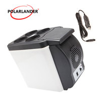 Mini Fridge 48W Double Use Warmer Portable ABS Car Boat Refrigerator Multi Function Auto Freezer Travel Home Cooler 12V