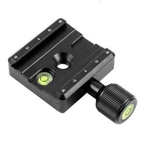 Image 1 - Adapter Platte Platz Clamp mit Gradienter für Quick Release Platte für Stativ Ball Kopf Q19819