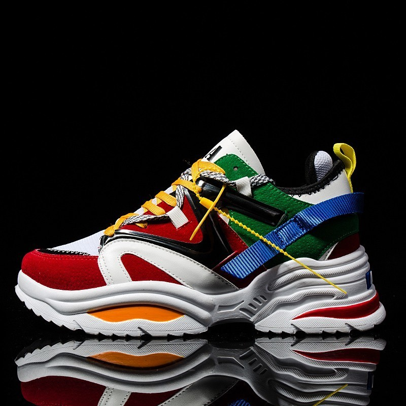 New 2019 Men Shoes Fashion Lace Up High