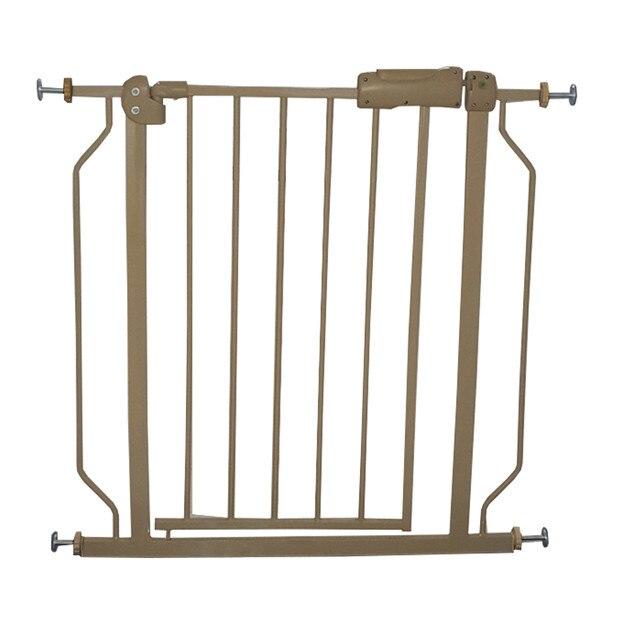Dédouanement bébé enfants sécurité métal marche à travers la porte d'or enfants portes sûres