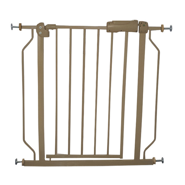 Liquidación venta bebé niños seguridad Metal caminar a través puerta Golden niños puertas seguras