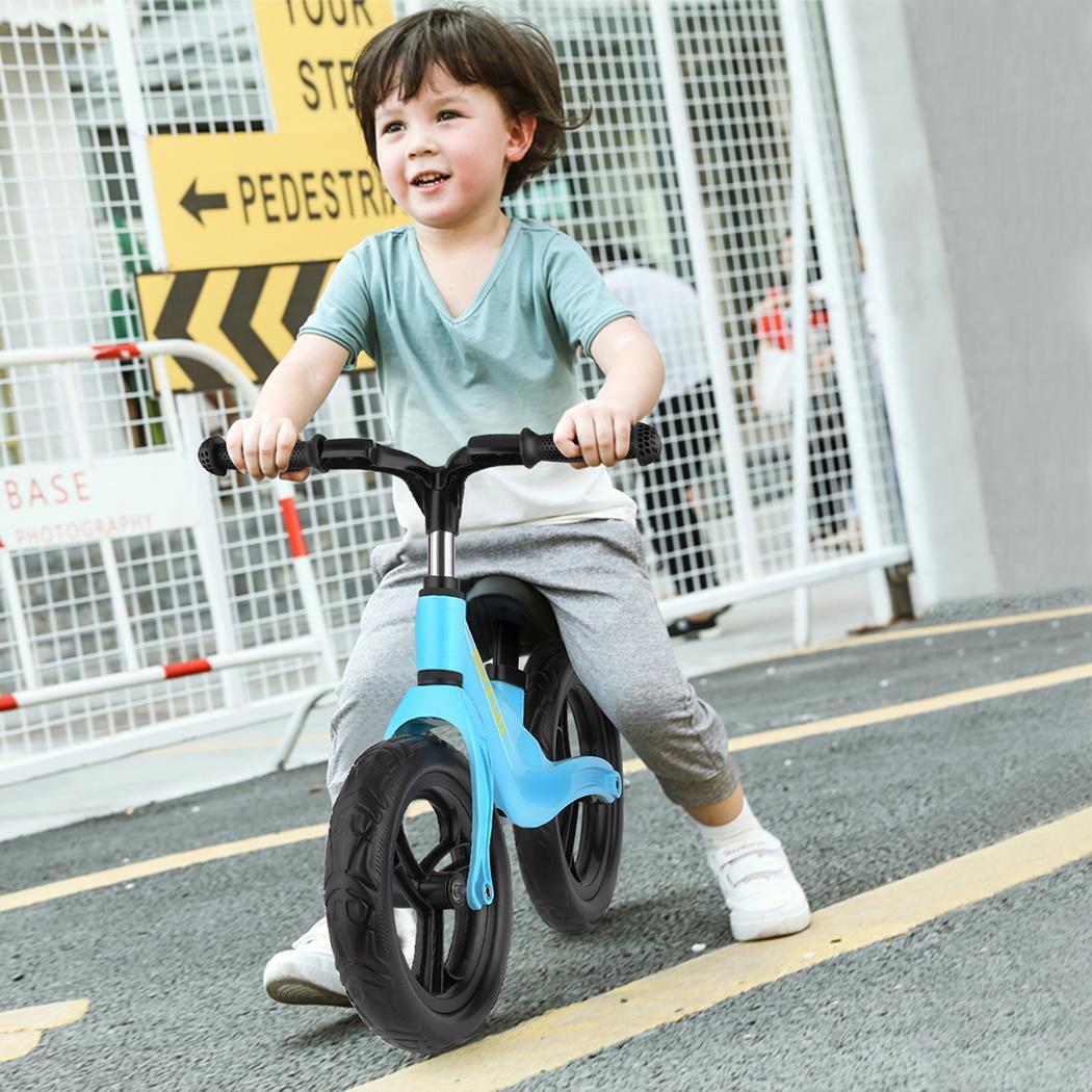 11.8-15.7 pouces enfants Balance vélo enfant pousser pas de pédale entraînement vélo siège réglable enfants apprendre à monter équilibre sportif
