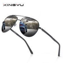 Aluminum Magnesium Sunglasses Men Polarized Vintage Pilot Sport UV400 Sun Glasses For Women Mirror Luxury Brand