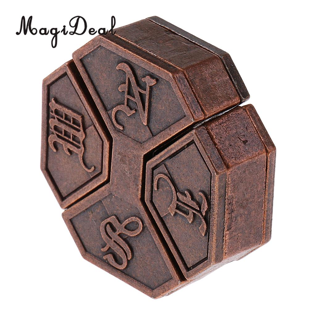MagiDeal 1Pc Alloy Box Lock Puzzle Classic Metal Brain Teaser IQ&EQ Test Toys for School Classroom Adults Children Kids Gifts цена