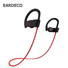EARDECO Sport Bluetooth Earphone Stereo Wireless Headphones Ear Hook Earphones Headsets Wireless Earpiece With Microphone