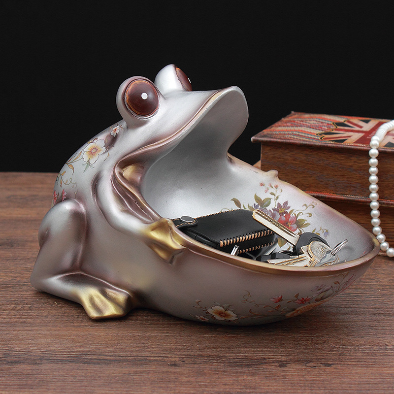 New Creative Lucky Animal Decorations Coffee Table Candy Dish Wine