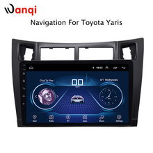 9 inch Android 8.1 car dvd GPS Navigation for toyota yaris 2008-2011 With Bluetooth/TV/WIFI/USB/Radio/video