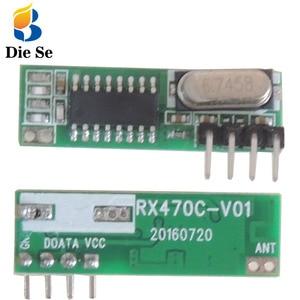 Image 1 - 433Mhz Module RF Wireless Receiver Module Superheterodyne 433MHZ Wireless for arduino DIY Relay Receiver Update module