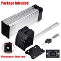 Boîtier de batterie Durable tête facultative pour vélo électrique 36 V/48 V grande capacité 18650 étui en plastique de batterie