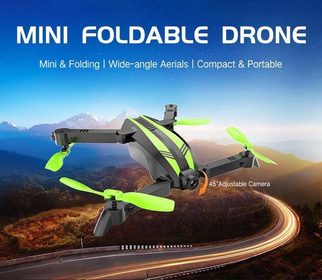 GW68 wifi FPV مع 0.3MP/2.0MP زاوية كاميرا 12 دقائق زمن الرحلة Selfie البسيطة RC الطائرة بدون طيار Quadcopter