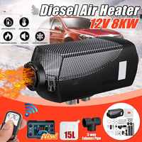Car Heater 8KW 12V Air Diesels Heater Parking Heater With Remote Control LCD Monitor for Cars Buses Rvs Trucks Vehicles Boat